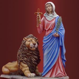 Св. мученица Татиана  со львом