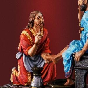 Иисус Христос: омовение ног