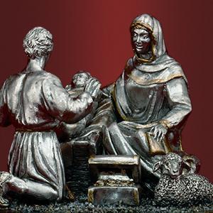 Богородица с Младенцем и пастухом