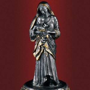 Пресвятая Богородица с младенцем