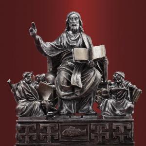 Иисус Христос Вседержитель с евангелистами