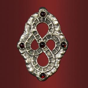 Медальон «Премудрость» с камнями