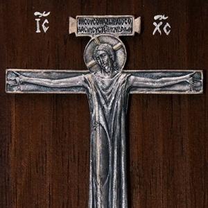 Плакетка «Распятие в хитоне» в киоте