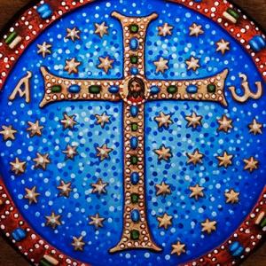 Плакетка «Щит веры» в киоте
