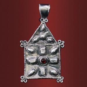 Медальон «Дар Божий» с камнем