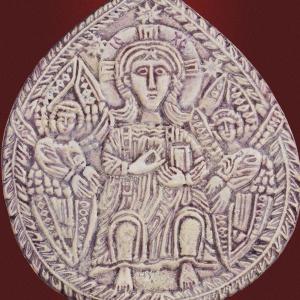 Плакетка «Побеждающий на престоле»