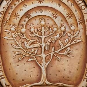 Плакетка «Древо Жизни» в киоте
