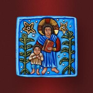 Плакетка «Христос и дети»