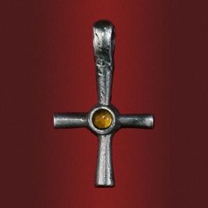 Крест «Чистота» с камнем