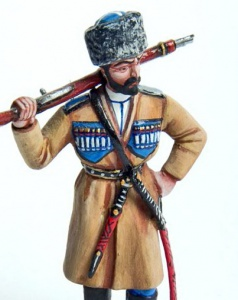 Кавказский казак, 1914 год
