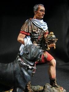 Римский центурион с собакой