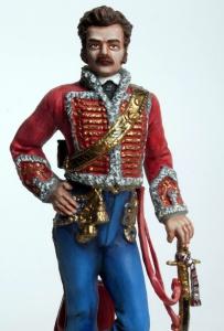 Офицер гвардейского гусарского полка 1812 года