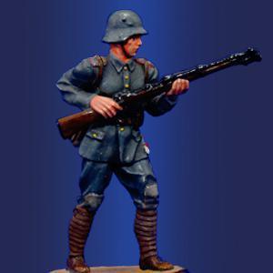 Немецкий рядовой, 1916