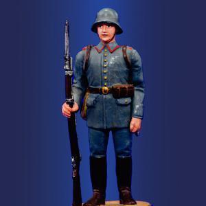 Немецкий рядовой в карауле, 1916